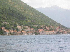 Perast from Skrpjela